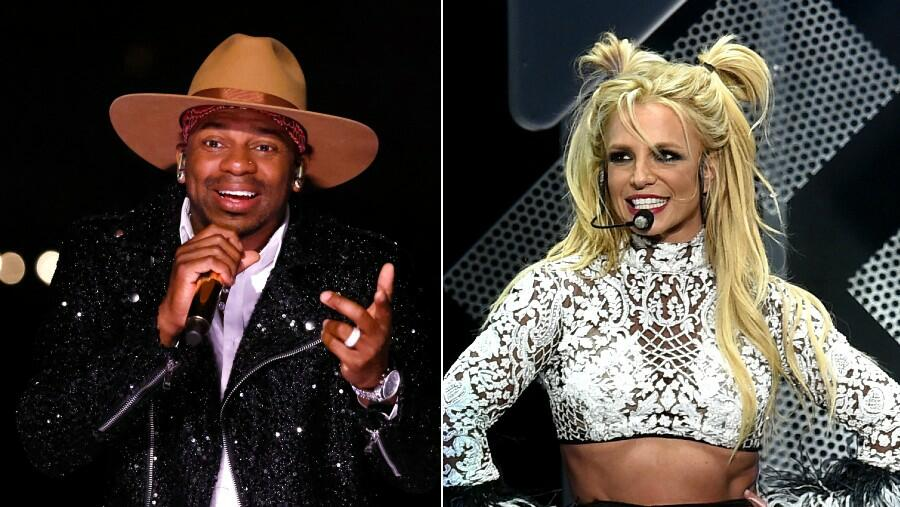 Jimmie Allen Reps His Britney Spears Fandom During 'Dancing With The Stars'