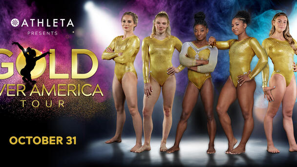 Listen to Toby + Chilli at 6:30A to win tickets to Simone Biles' Gold Over America Tour