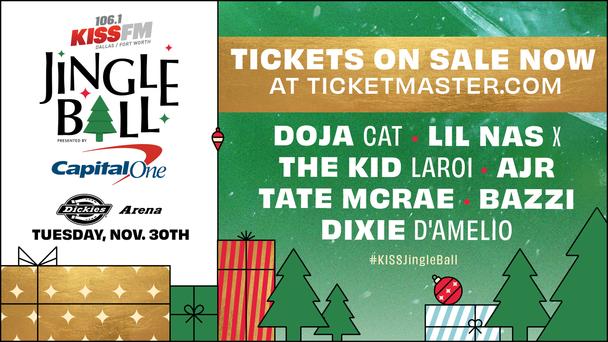 #KISSJingleBall Tickets On Sale Now!