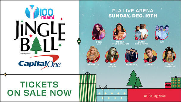 Tickets Are On Sale NOW For Y100 Jingle Ball! Grab Them Before They're Gone!