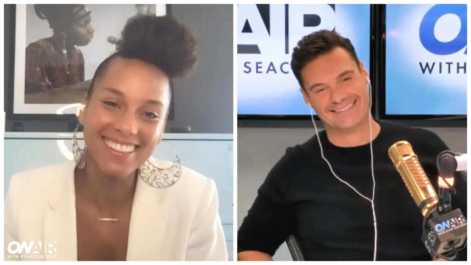 Ryan Seacrest Shares His Own 'Untold Stories' With Alicia Keys: Watch