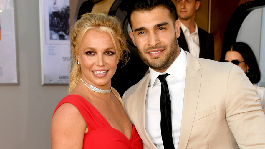 Meet Porsha, Britney Spears And Sam Asghari's New Doberman Puppy