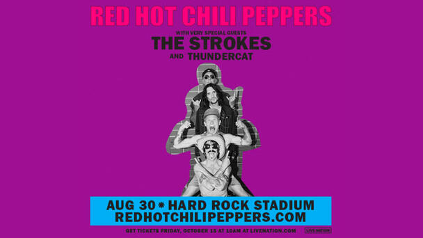 Enter To Win Tickets To See The Red Hot Chili Peppers