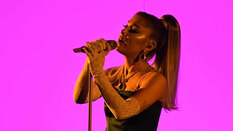 Ariana Grande Cries As Her Contestants Battle Each Other On 'The Voice'