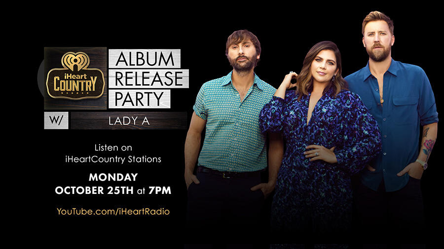 Lady A's iHeartCountry Album Release Party: How To Watch