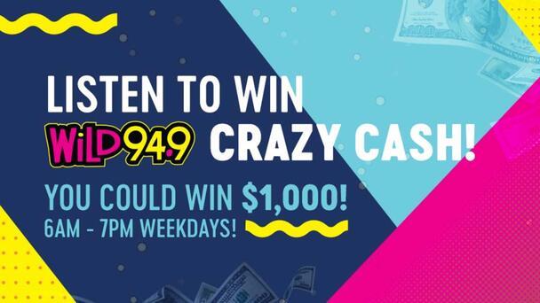 Listen to WIN $1000 Crazy Cash!