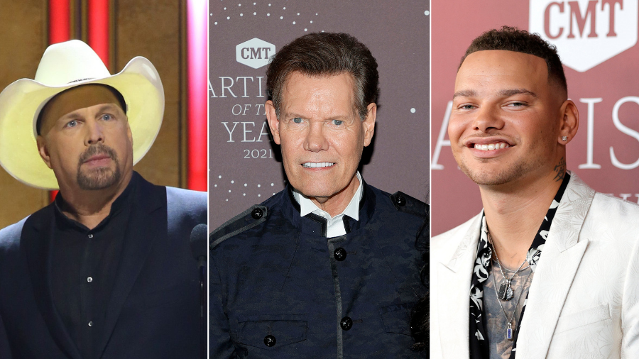 Garth Brooks And Kane Brown Honor Randy Travis At CMT Artists Of The Year