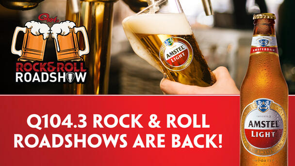 Q1043 Rock & Roll Road Shows are BACK!