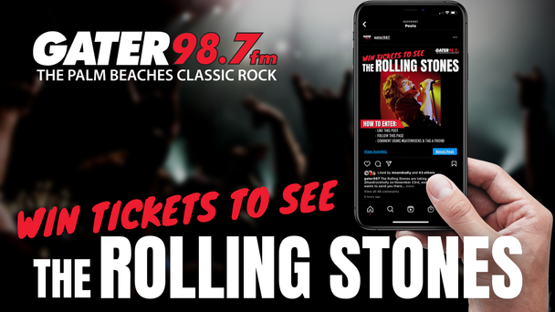Enter To Win Tickets To See The Rolling Stones!