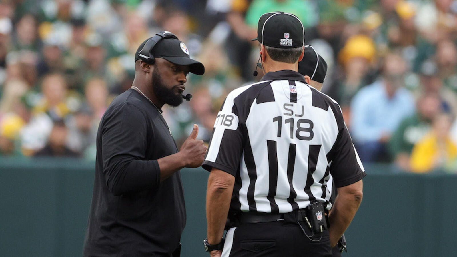 Former NFL Referee Responds To Mike Tomlin's Replay Criticism