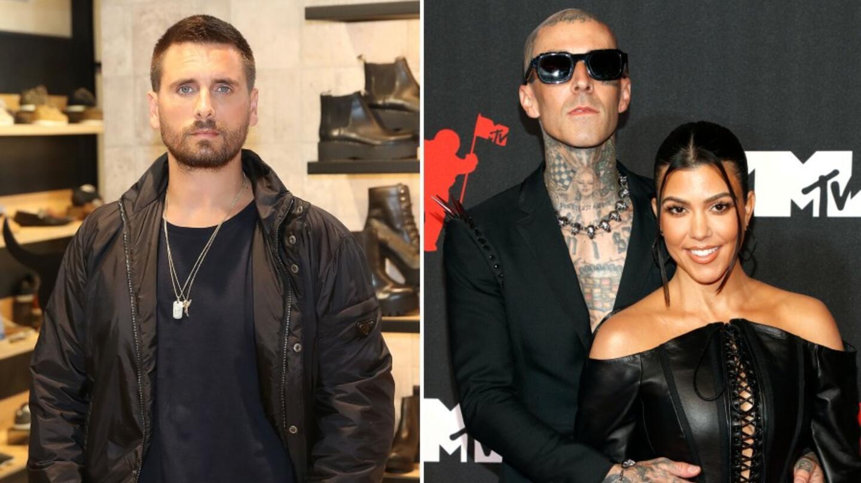 How Scott Disick Feels About Kourtney Kardashian & Travis Barker Engagement