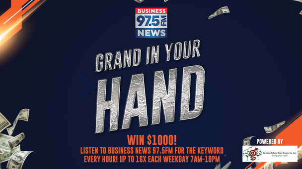 GRAND IN YOUR HAND - WIN $1,000!