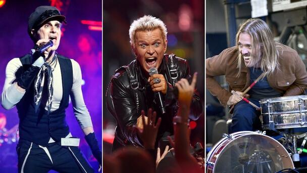 Billy Idol, Perry Farrell, Taylor Hawkins To Play 'Above Ground' Benefit