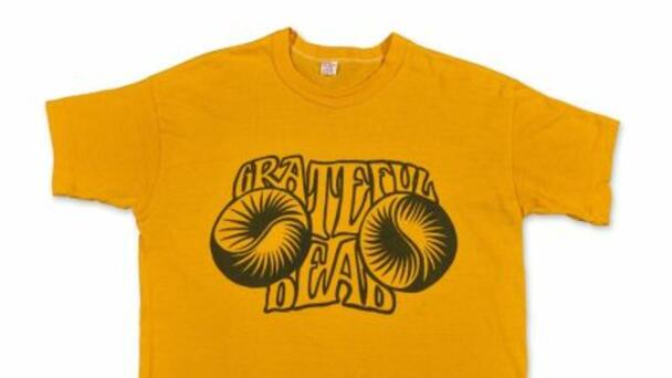 Grateful Dead T-Shirt Shatters Auction Record, Selling For Nearly $18,000
