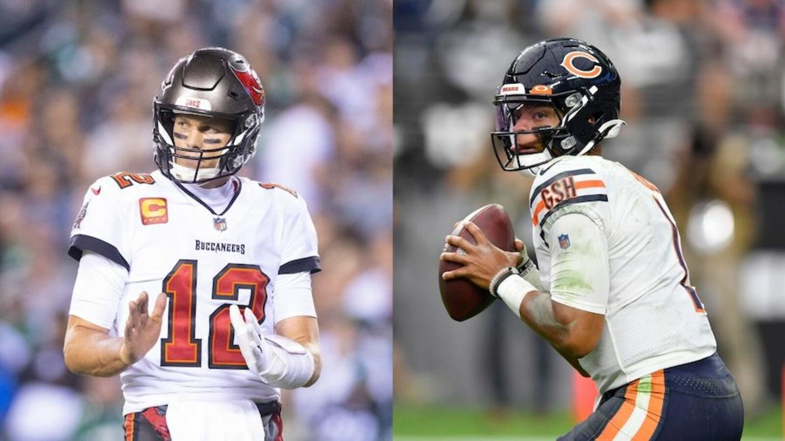Tom Brady, Justin Fields Will Set Incredible Record In Week 7 Matchup