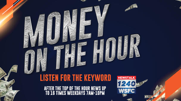 Cash in and win $1,000! Listen to NewsTalk 1240 WSFC weekdays 7a-7p!