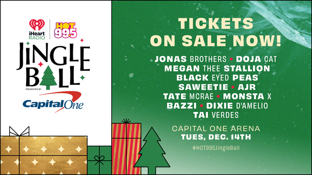 Our #HOT995JingleBall Is ON SALE NOW!