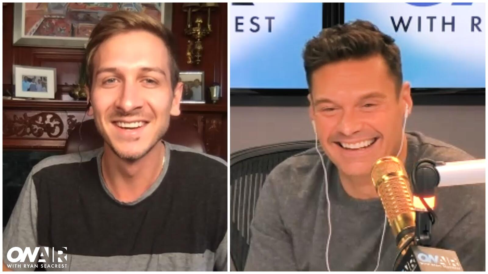 Seacrest Reconnects With Former Intern Jac Collinsworth
