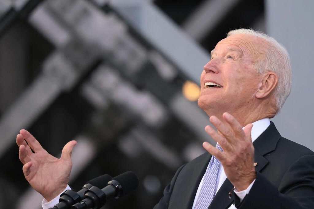Biden Exposes Himself...