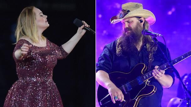 Adele Names Chris Stapleton As Her Dream Collaboration