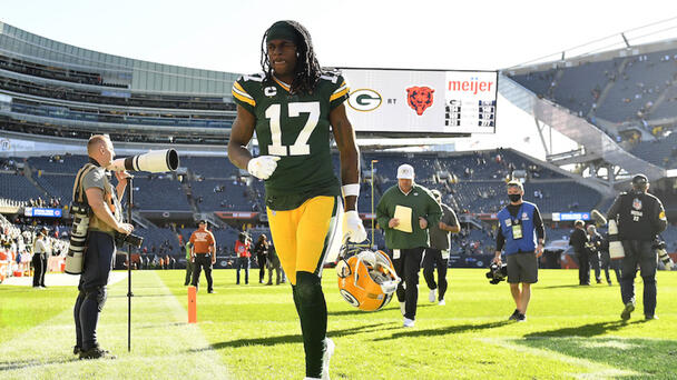 Packers Star WR Davante Adams Placed On COVID-19 Reserve List