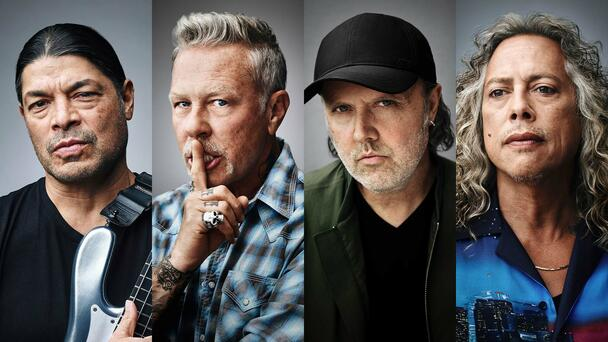 Metallica Launches New MasterClass On 'Being A Band'
