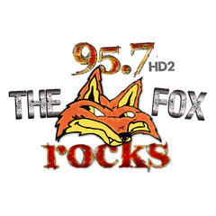 95.7HD2 The Fox Rocks logo