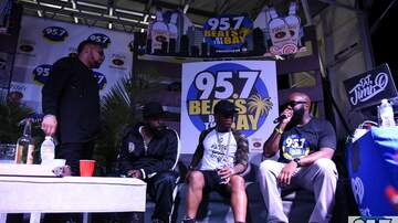 Beats By The Bay - Dru Hill on the couch being interviewed at Beats By The Bay