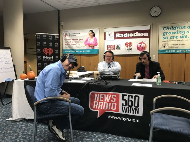 Shriners Radiothon Day One