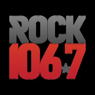 Rock 106.7 logo