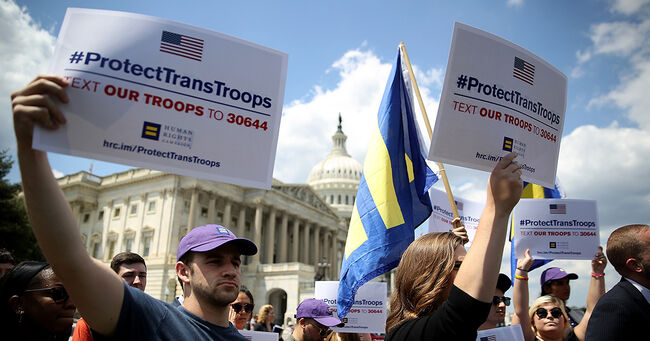 Protect Transgender Troops Supporters