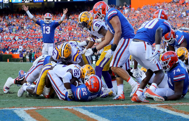 Florida Gators LSU Tigers