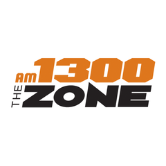 AM 1300 The Zone logo