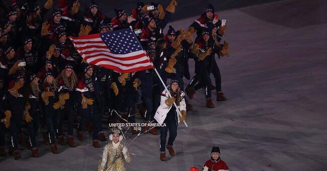 olympics opening ceremony pyeongchang south korea winter games