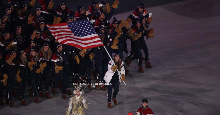 olympics opening ceremony pyeongchang south korea winter games