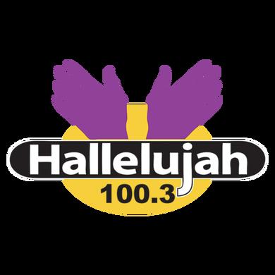 Hallelujah 100.3 logo