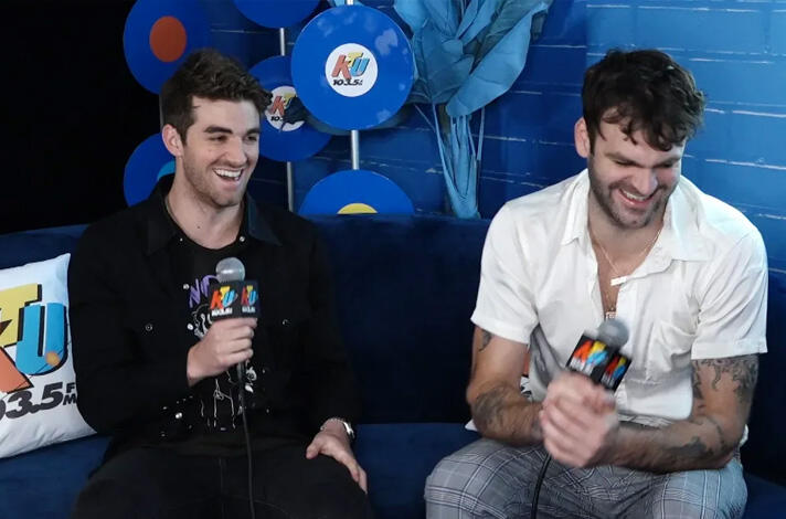 The Chainsmokers' Tease Massive Tour With 5SOS At KTUphoria