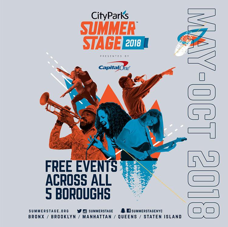 2018 SummerStage Festival