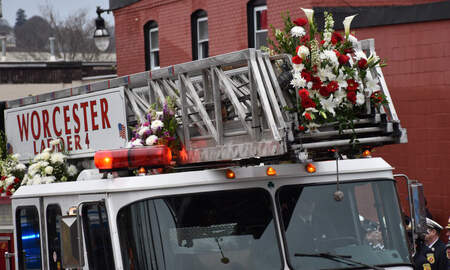Local News - Funeral For Worcester Firefighter Christopher Roy Held Saturday