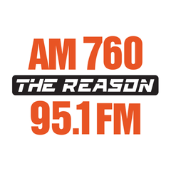 The REASON, AM760 & FM95.1 logo