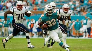 The Morning Rush - Miami Dolphins In Prime Time, But Former Starting RB Is Gone