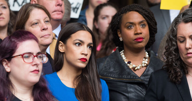 Ocasio-Cortez and Ayanna Pressley
