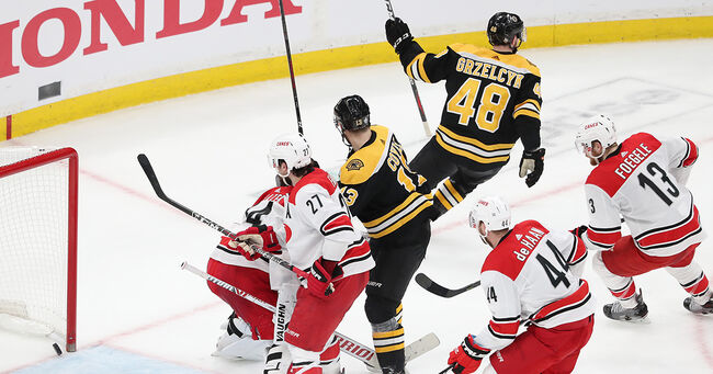 Bruins play the Carolina Hurricanes Game 2