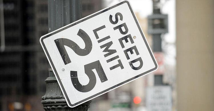 speed limit sign generic