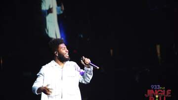 93.3 FLZ's Jingle Ball - #FLZJingleball Khalid Performing Inside Amalie [Photos]