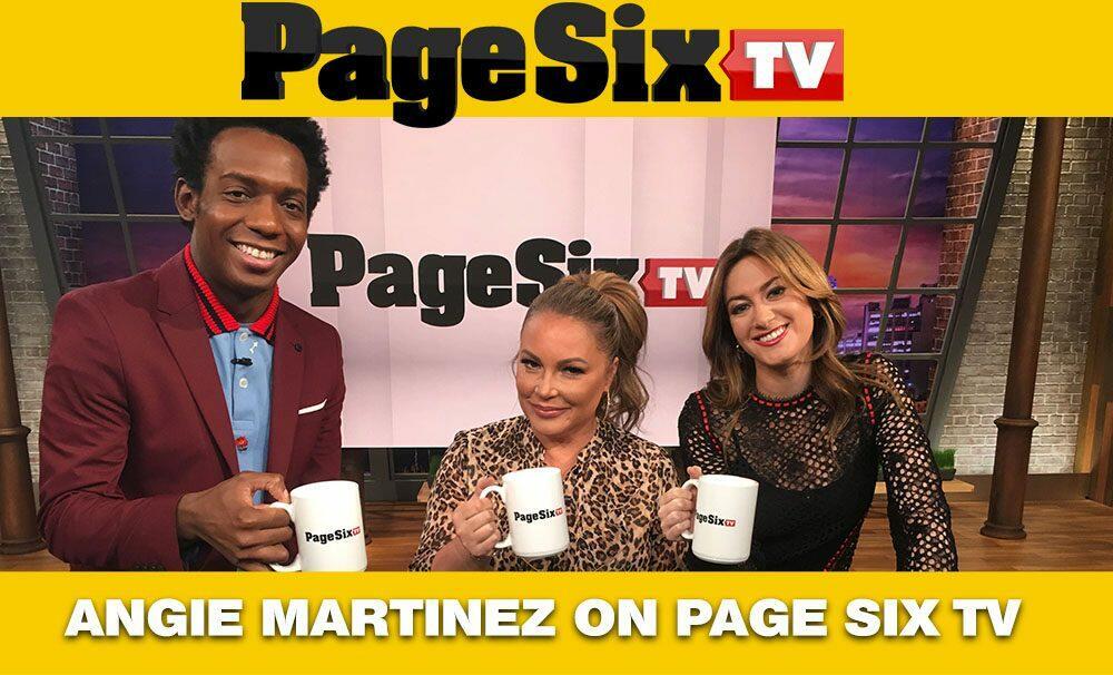 Angie Martinez Page Six TV