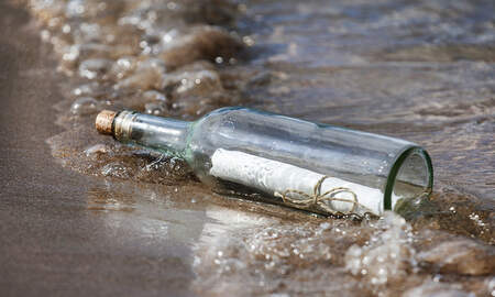 Jeff Angelo on the Radio - Message In Bottle Offers 50 Cent Reward For Return...57 Years Ago