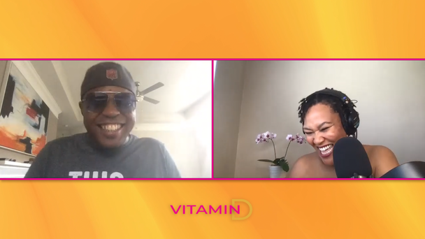 WATCH: Junior Talks Meeting Steve Harvey & His Battle With Sickle Cell