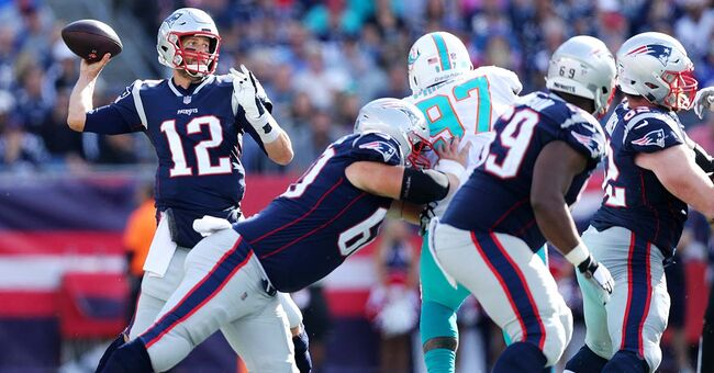 tom brady new england patriots miami dolphins