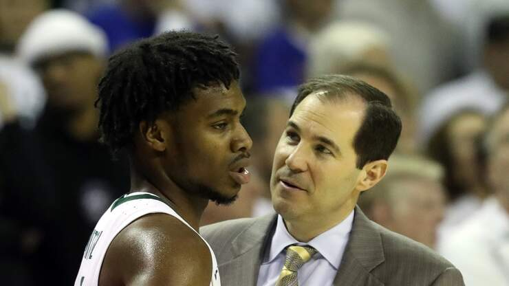 Scott Drew Reacts Live to Report: Davion Mitchell to Declare for NBA Draft